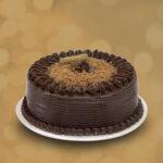 Chocolate con Fondo crema